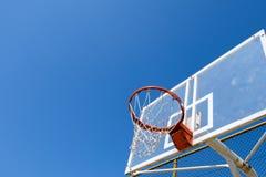 Ninho do basquetebol Foto de Stock Royalty Free