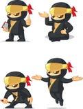Ninja定制的吉祥人10 库存照片