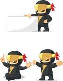 Ninja定制的吉祥人13 免版税库存图片