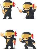 Ninja定制的吉祥人16 库存照片
