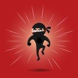 Ninja英雄 免版税库存图片