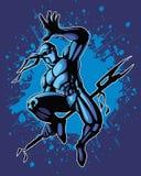ninja άλματος Στοκ εικόνες με δικαίωμα ελεύθερης χρήσης