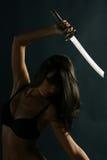 ninja κοριτσιών στοκ εικόνες