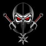 Ninja κρανίων Στοκ Εικόνες