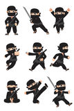 孩子ninja 图库摄影