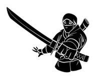 ninja Royalty-vrije Stock Afbeeldingen