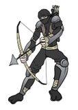 Ninja arc Stock Photography