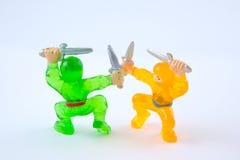 Ninja Battle 2 royalty free stock image