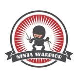 ninja cartoon Royalty Free Stock Photo
