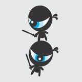 Ninja character Stock Image