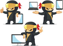 Ninja Customizable Mascot 19 Royalty Free Stock Photo