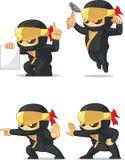 Ninja Customizable Mascot 4 Stock Photography