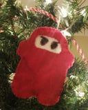 Ninja di Natale Fotografia Stock Libera da Diritti