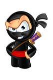 Ninja di sguardo sornione Character royalty illustrazione gratis
