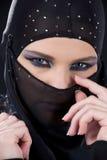 Ninja Face Fotos de archivo libres de regalías