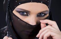 Ninja Face Imágenes de archivo libres de regalías