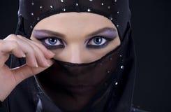Ninja Gesicht Stockbild