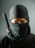 Ninja Meuchelmörder Stockfotografie