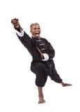 Ninja negro fotografía de archivo libre de regalías