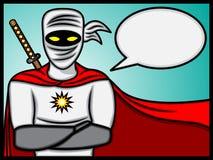 Ninja que habla Foto de archivo libre de regalías