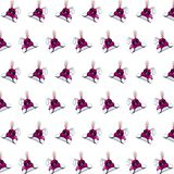 Ninja rabbit - sticker pattern 20 royalty free illustration