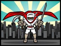 Ninja super Imagens de Stock