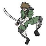 Ninja sword Stock Image