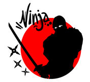 Ninja symbol Royalty Free Stock Photo