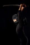 Ninja unge Royaltyfri Foto