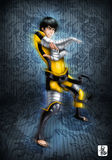 Ninja warrior Stock Photo