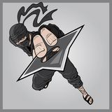 Ninjaen Fotografering för Bildbyråer
