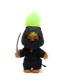 ninjaen fiska med drag i Arkivbilder