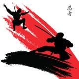 Ninjas Fotografia de Stock