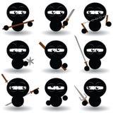 Ninjas Royalty-vrije Stock Afbeelding