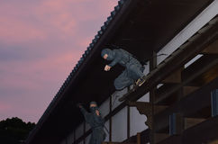 Ninja warrior, Japan Stock Photography