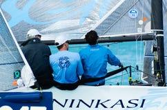 Ninkasi vince Melges 20 campionati del mondo Immagine Stock