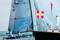 Ninkasi Wins Melges 20 World Championships Royalty Free Stock Photo