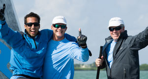 Ninkasi Wins Melges 20 World Championships Royalty Free Stock Images