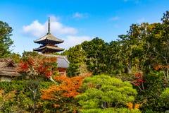 Ninna籍寺庙京都 免版税库存图片