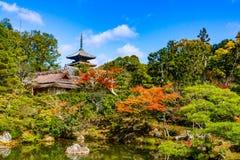 Ninna籍寺庙京都 库存图片
