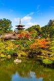 Ninna籍寺庙京都 免版税图库摄影