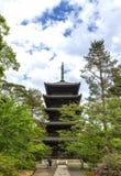 Ninna-jipagode in Kyoto Japan Lizenzfreie Stockbilder