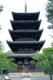 Ninnaji Buddhist tower Stock Image