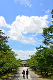 Ninnaji temple in Kyoto Japan, summer. Stock Images