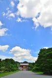 Ninnaji temple under summer sky, Kyoto Japan. Stock Photography