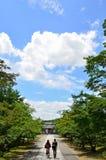 Ninnajitempel in Kyoto Japan, de zomer Stock Afbeeldingen