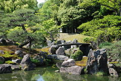 Ninomaru Gardens, Kansai Royalty Free Stock Photo