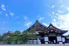 Ninomaru pałac Nijo-jo kasztel, Kyoto, Japonia fotografia royalty free