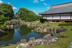 Ninomaru pałac przy Nijo kasztelem w Kyoto Obrazy Royalty Free