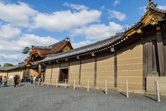 Ninomaru pałac przy Nijo kasztelem w Kyoto Zdjęcia Stock
